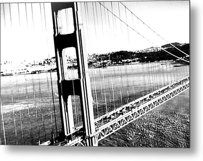 Golden Gate Metal Print by Amy Giacomelli