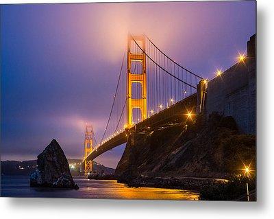 Golden Gate Beauty Metal Print