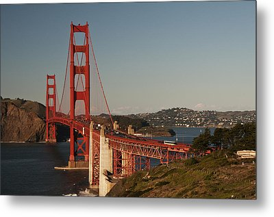Metal Print featuring the photograph Golden Gate Bridge 2 by Lee Kirchhevel