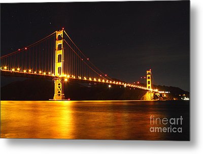 Golden Gate Bridge 2 Metal Print by Theresa Ramos-DuVon