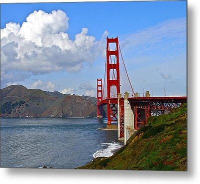 Golden Gate Metal Print by Michael Blesius