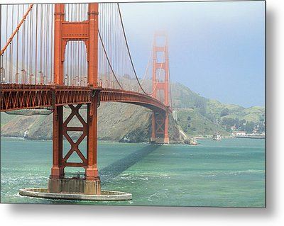 Metal Print featuring the photograph Golden Gate by Steven Bateson