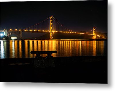 Metal Print featuring the photograph Golden Gate by Steven Reed