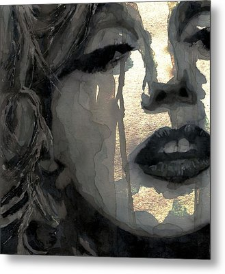 Golden Goddess Metal Print by Paul Lovering