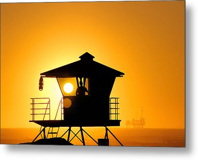 Golden Hour Metal Print by Tammy Espino
