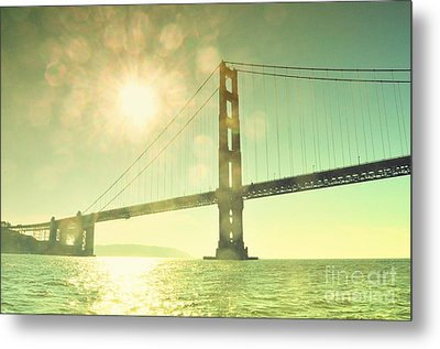Golden... Metal Print