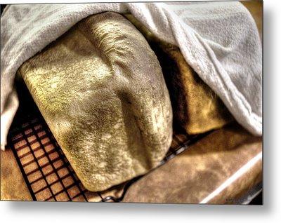 Golden Loaves Metal Print