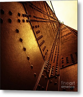 Golden Mile Metal Print