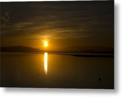 Metal Print featuring the photograph Golden Morn by Richard Stephen