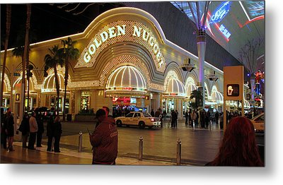 Golden Nugget Metal Print