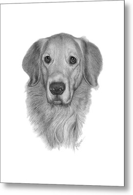 Golden Retriever Metal Print by Joe Olivares