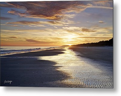Golden Sands Metal Print by Phill Doherty