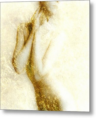 Golden Shower Metal Print