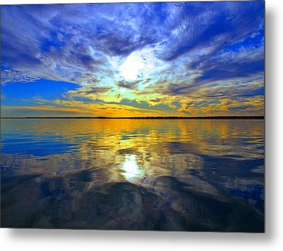 Golden Sunset Metal Print by James Granberry
