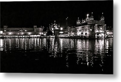 Golden Temple Metal Print by Gautam Gupta