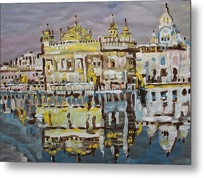 Golden Temple  Metal Print by Vikram Singh