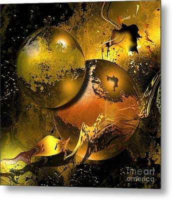 Golden Things Metal Print by Franziskus Pfleghart