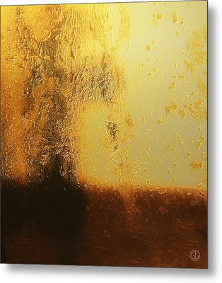 Golden Tree Metal Print by Gun Legler