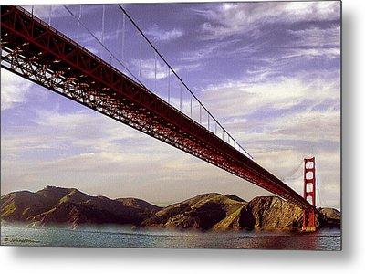 Goldengate Bridge San Francisco Metal Print