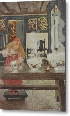 Goldilocks Metal Print by British Library