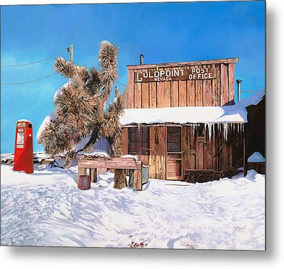 Goldpoint-nevada Metal Print by Guido Borelli