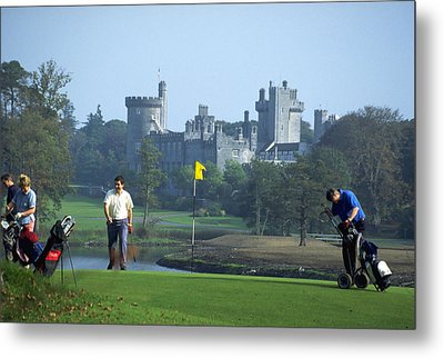 Golf At Dromoland Castle Metal Print