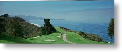 Golf Course At The Coast, Torrey Pines Metal Print