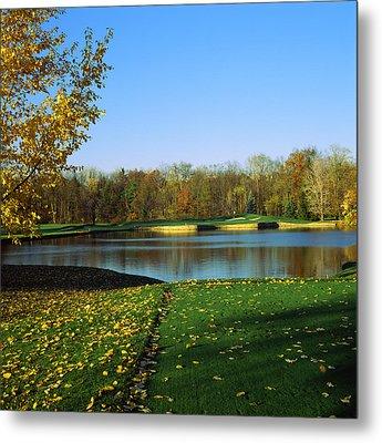 Golf Course, Laurel Valley Golf Club Metal Print