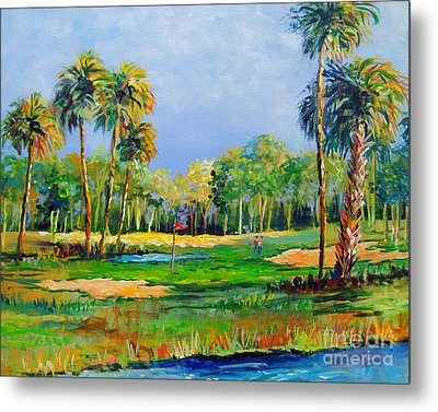 Golf In The Tropics Metal Print