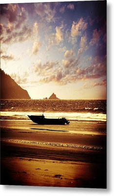 Metal Print featuring the photograph Gone Fishin' by Aaron Berg