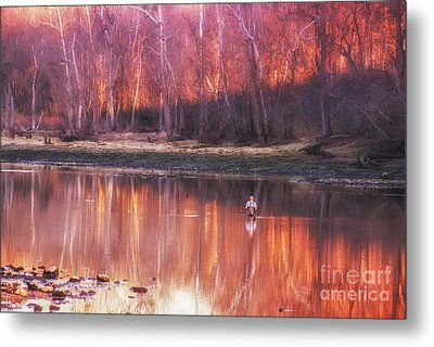 Metal Print featuring the photograph Gone Fishin' by Julie Clements