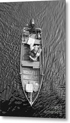 Gone Fishing  Metal Print by Lee Dos Santos
