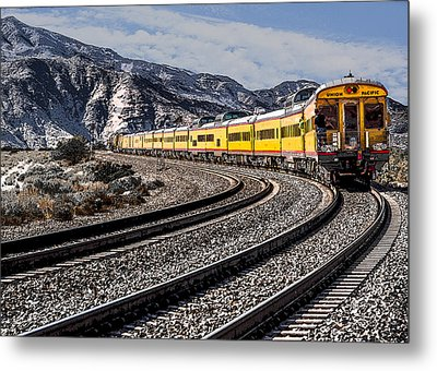 Gone Metal Print by Photographic Art by Russel Ray Photos