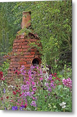 Gone To Pot - The Potter's Flower Garden Metal Print by Gill Billington