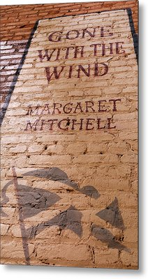 Gone With The Wind - Urban Book Store Sign Metal Print