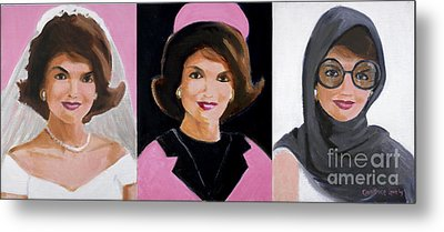 Good And Plenty Jackie O  Metal Print by Candace Lovely