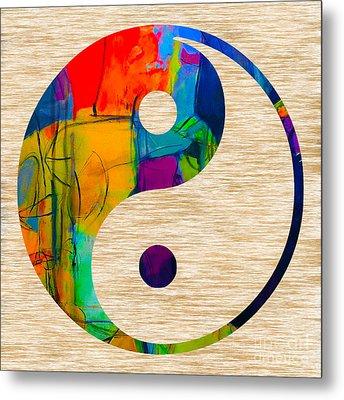 Good Balance Metal Print by Marvin Blaine