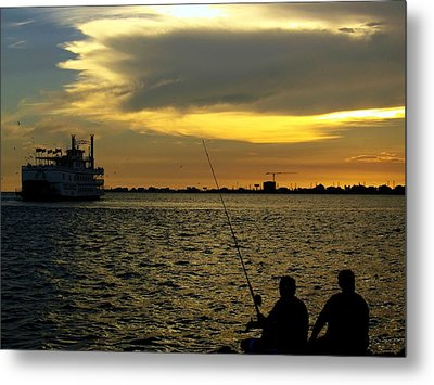 Good Day Fishing Metal Print