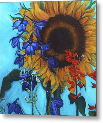 Good Day Sunshine Metal Print by Andrea LaHue