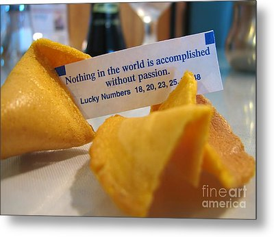 Good Fortune Metal Print by Peggy Hughes