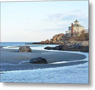 Good Harbor Beach Metal Print