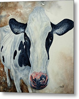Good Mooo To Youuu Metal Print by Thomas Kuchenbecker