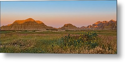 Metal Print featuring the photograph Good Morning Badlands II by Patti Deters