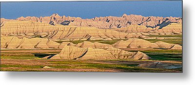 Metal Print featuring the photograph Good Morning Badlands I by Patti Deters