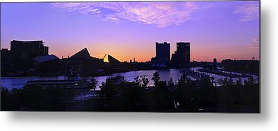 Good Morning Baltimore Metal Print by Marianne Campolongo