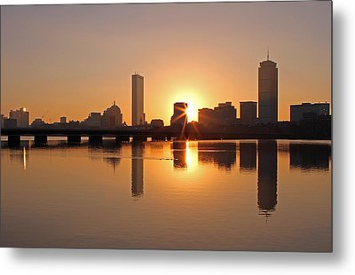 Good Morning Boston Metal Print by Juergen Roth