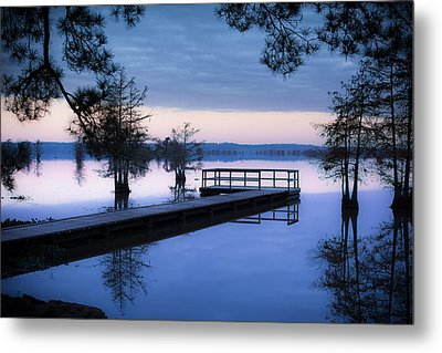 Good Morning For Fishing Metal Print