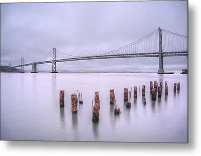 Good Morning San Francisco Metal Print by Peter Thoeny