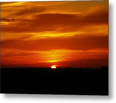 Metal Print featuring the photograph Good Morning Sunshine by Oscar Alvarez Jr
