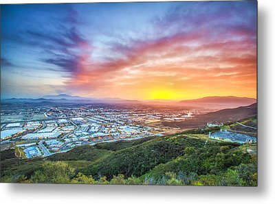 Metal Print featuring the photograph Good Morning Temecula by Robert  Aycock